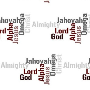 Names of God (neutral colors)