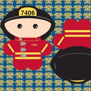 Kawaii Fireman - Firefighter