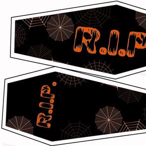 Orange Coffin Pillow Kit