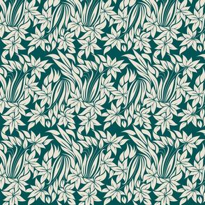flowers tender pattern