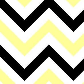 Yellow & Black Chevrons