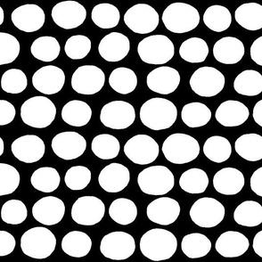 Jumbo Peas (black & white)
