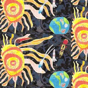 The Earth Loves the Sun