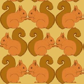 Autumn Delights - Squirrels - biscuit