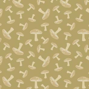 Autumn Delights - Mushrooms - Olive