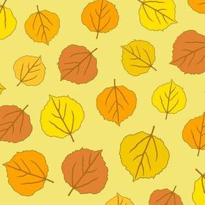 Autumn Delights - Fallen Leaves - Morning Sun