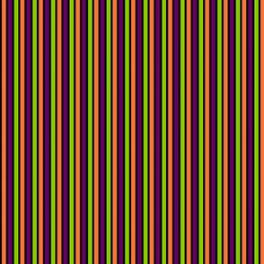 Halloween Stripes Vertical