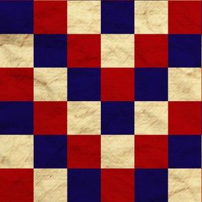Patriotic Cheater Quilt