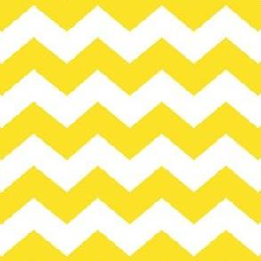 Zigzag Sea Chevrons (Yellow and White)