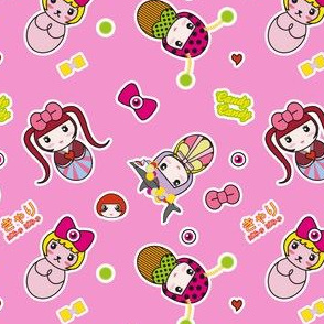 Kyary Kokeshi (Pink)