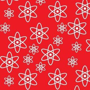 Atomic Orbits (Red)