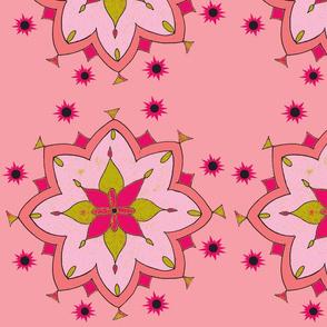 pink flower mandala-recife