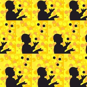The Juggler (yellow)