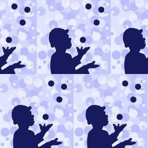 The Juggler (blue)