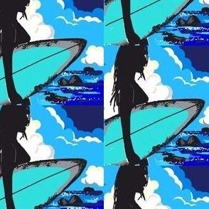 Surfer Girl - 7 Time World Champion