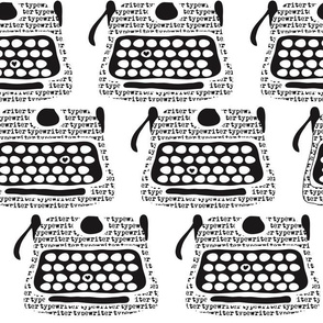 Clickity Clack (I heart typewritten words)