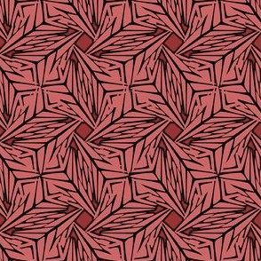 palm leaves - flamingo