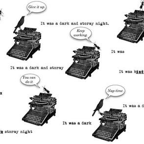 Typewriter Pep Talk