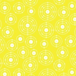 Periodic Shells (Yellow Ditsy)