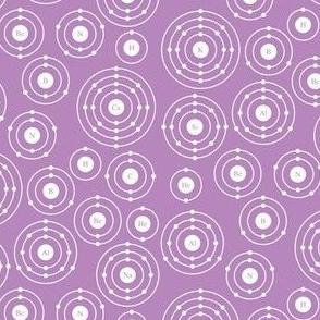 Periodic Shells (Purple Ditsy)