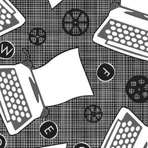Roomful of Flying Typewriters