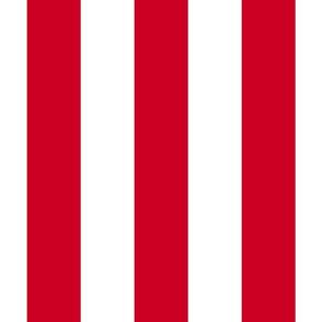 Carnival 3 inch red stripes