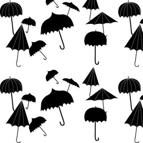 umbrellas small scale