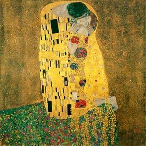 The Kiss (Gustav Klimt, 1908)