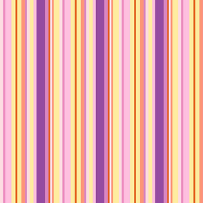 multicolor pink stripes