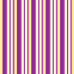 purple yellow stripes