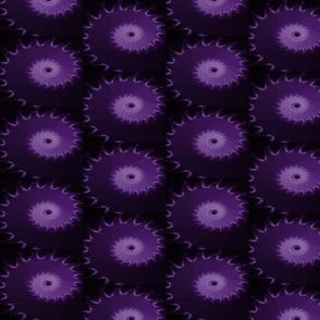 Royal Purple and Black Nautilus Fractal