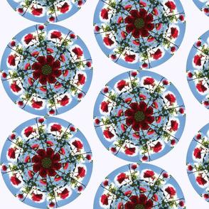 Mandala Rose sky 2
