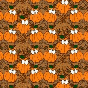 Babies In The Pumpkin Patch Fabric 5