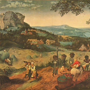 The Hay Harvest 1565 by Pieter Bruegel