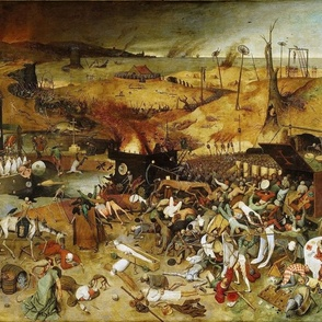 The Triumph of Death 1562 by Pieter Bruegel