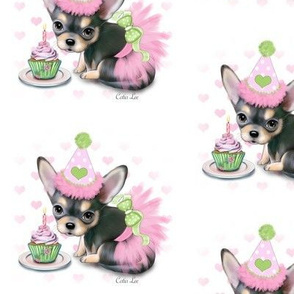 Black and Tan Chihuahua Birthday girl M