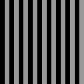 Stripe - black and gray