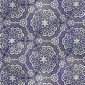 Quilters Blue Crochet