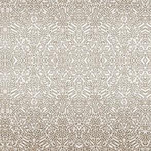 Quilters Lace Silver Mauve
