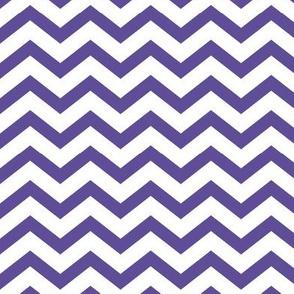 chevron purple