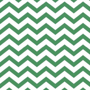 chevron kelly green