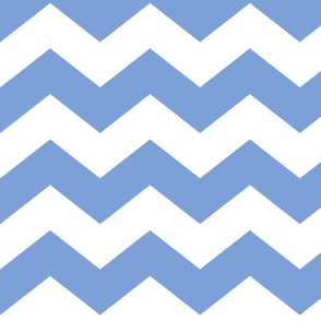 chevron lg cornflower blue