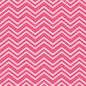 chevron no2 hot pink