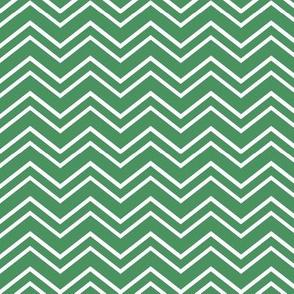 chevron no2 kelly green