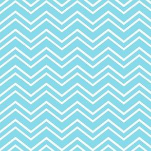 chevron no2 sky blue