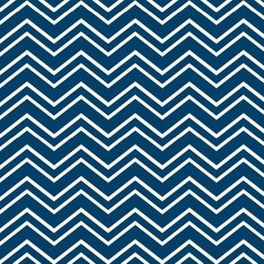 chevron no2 navy blue