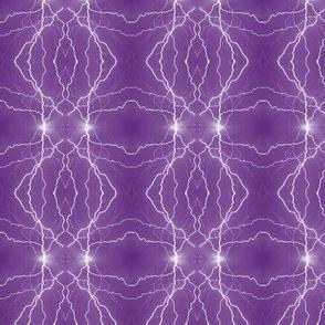 Small Lightning Diamonds in Purple