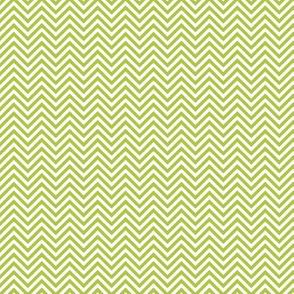 chevron pinstripes lime green