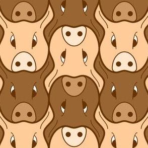 01439002 : pig head 2j : FN