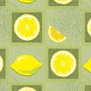 lemon flavoured squares